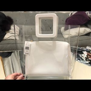 Stuad Bags - Brand new clear hand bag $220 retail with tags